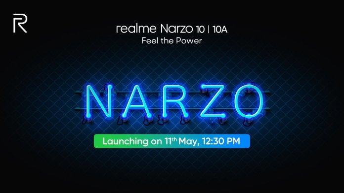 Realme Narzo 10 Series Launch Date
