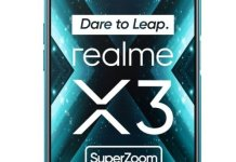 Realme X3 Superzoom display