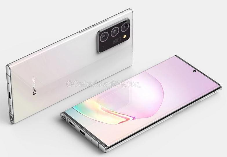 Samsung Galaxy Note 20 Plus leaked renders _a