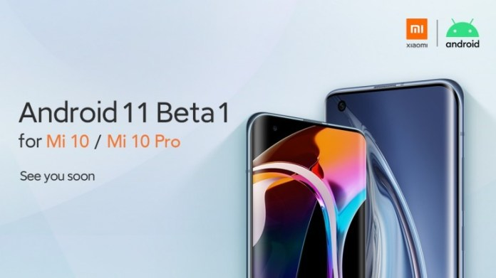 Android 11 Beta for Mi 10, Mi 10 Pro