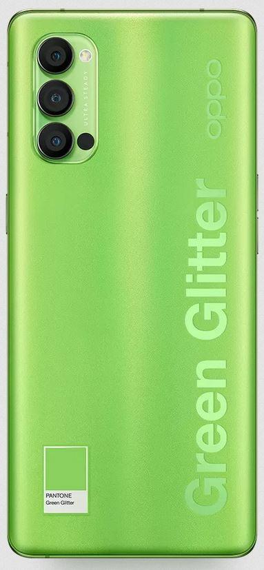 Oppo Reno4 Pro Pantone Green Glitter