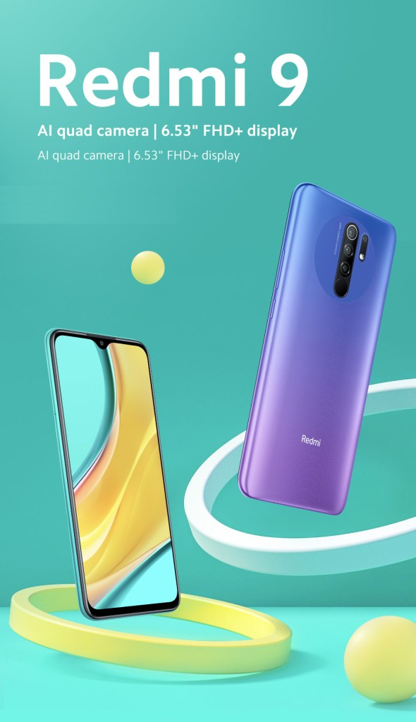 Redmi 9 leaked