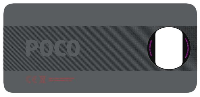 Poco X3 design leaked