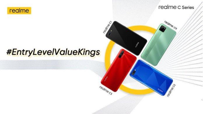 Realme C12 and Realme c15 India launch