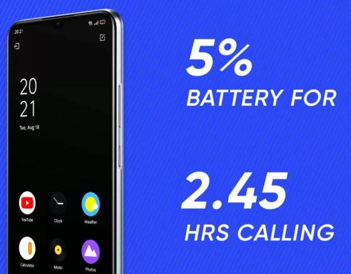 Realme C12 display