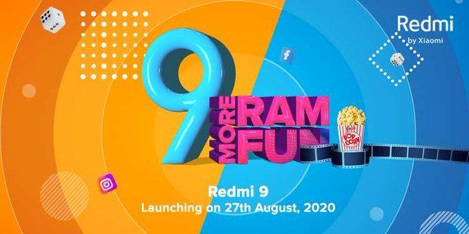 Redmi 9 India launch date