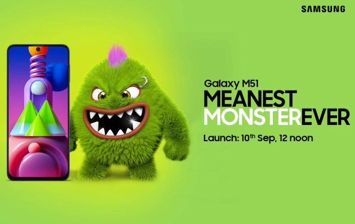 Galaxy m51 india launch