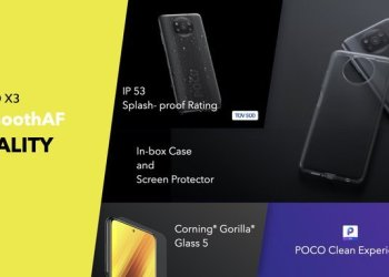 Poco X3 Indian version