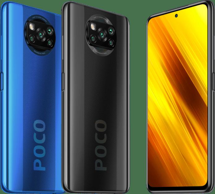 Poco X3 colours