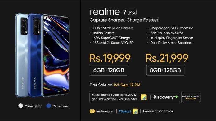 Realme 7 Pro price in India
