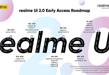 RealmeUI 2.0 Update roadmap for India released