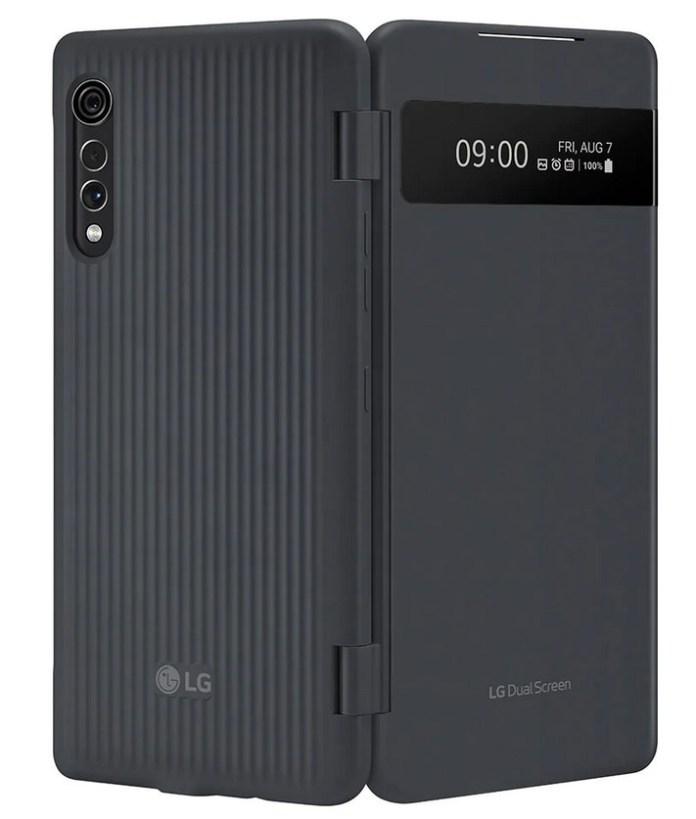 LG Velvet Dual Screen cover display