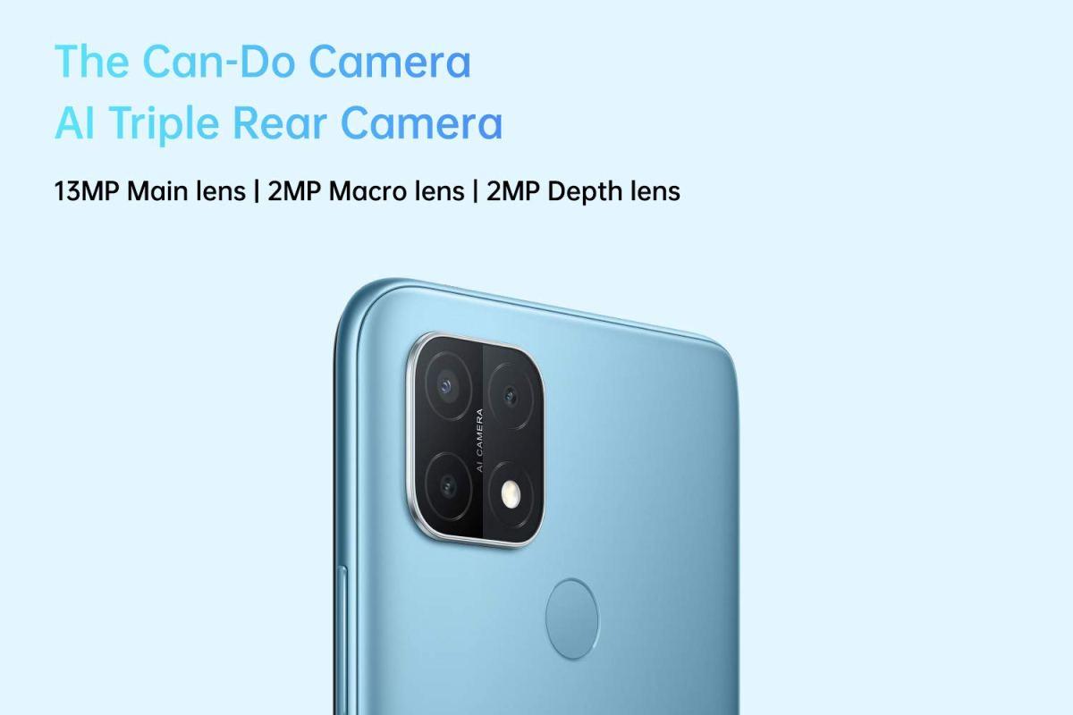 OPPO A15 cameras
