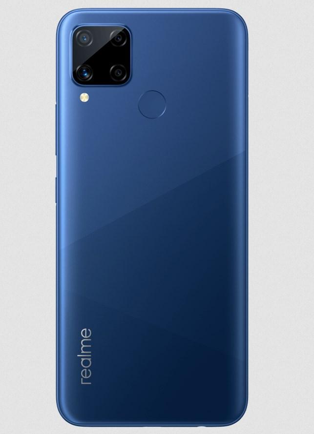 Realme C15 Qualcomm Edition Power Blue