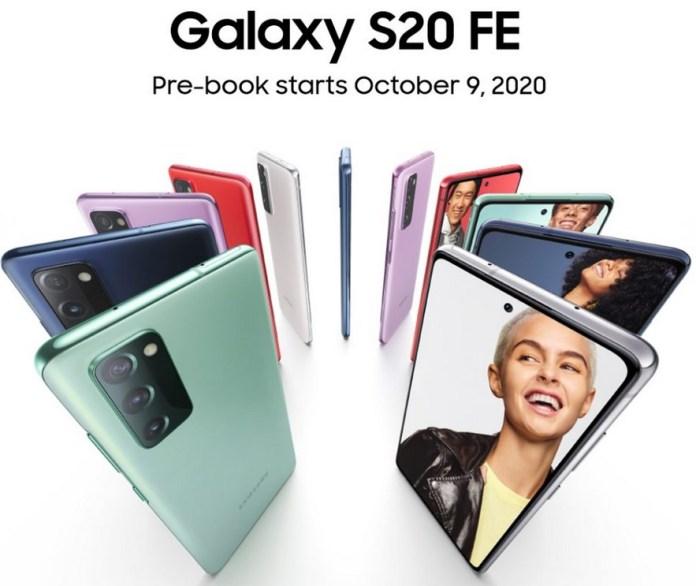 Samsung Galaxy S20 FE Indian variant