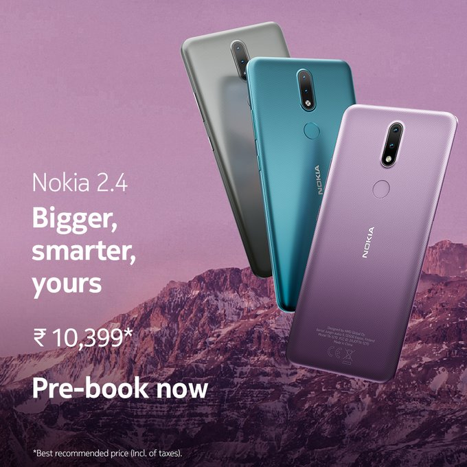 Nokia 2.4 Price In India
