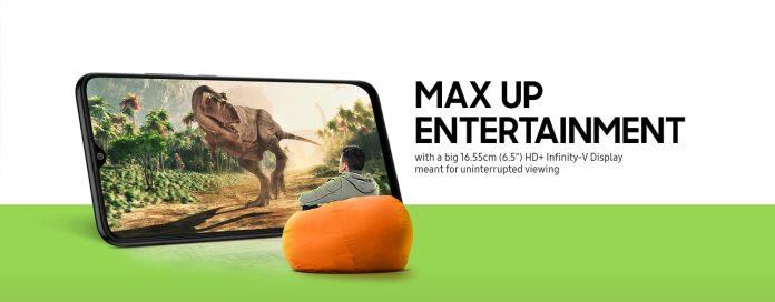 Samsung galaxy m02s teaser