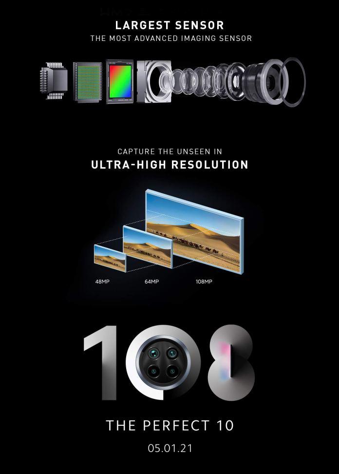 Xiaomi Mi 10i 108mp camera