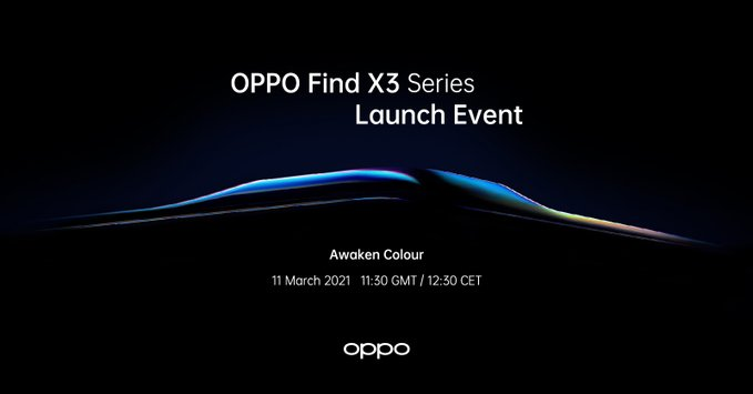Oppo Find X3 launch date