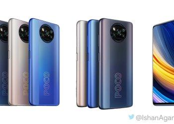 Poco X3 Pro leaked render