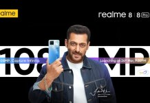 Realme 8 series launch date
