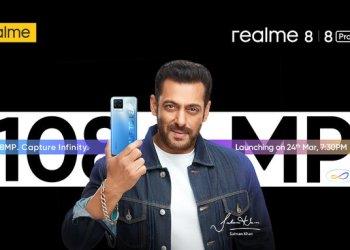 Realme 8 series launch date
