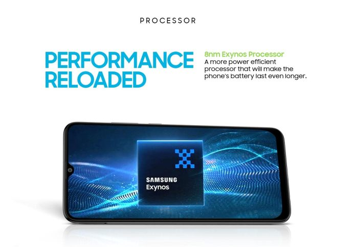 Samsung Galaxy M12 processor