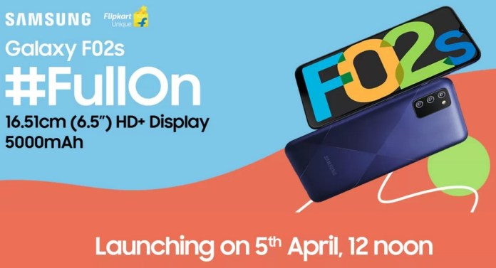 Samsung Galaxy F02s launch date in India
