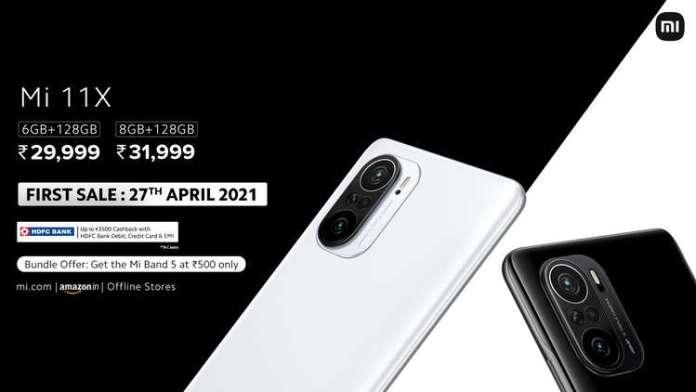 Xiaomi Mi 11X price in India