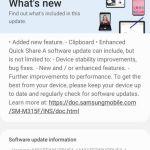 Samsung Galaxy M31 June Update