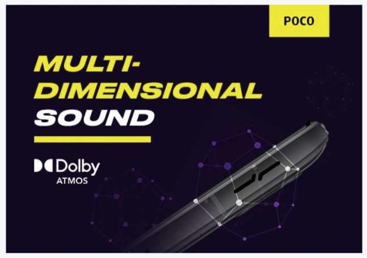 Poco F3 GT specs - audio