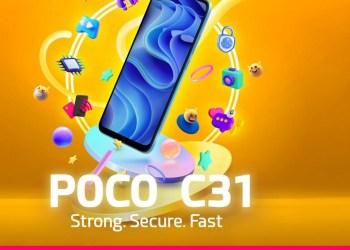 Poco C31 launch date in India