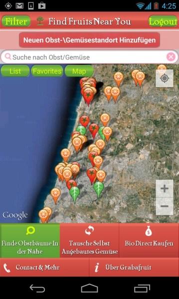 Screenshot_20140410042537 Grabafruit Aplicatie Android De Social Bartering