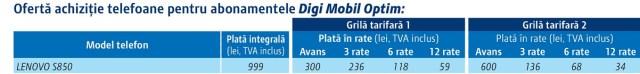 2014_09_3 tabel telefoane.indd Digi Mobil - Telefoane Lenovo S860, S850 Si A859
