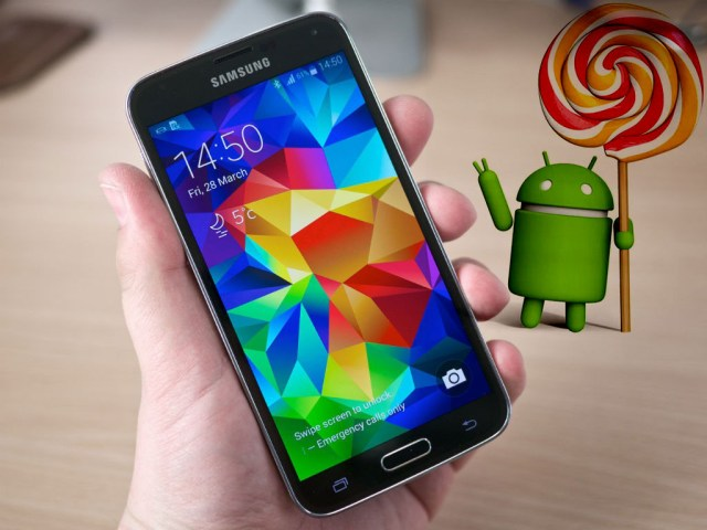 grthgtrhlliegewgweertpotrghtgwe Samsung Galaxy S5 Primeste Android 5.0 In Decembrie