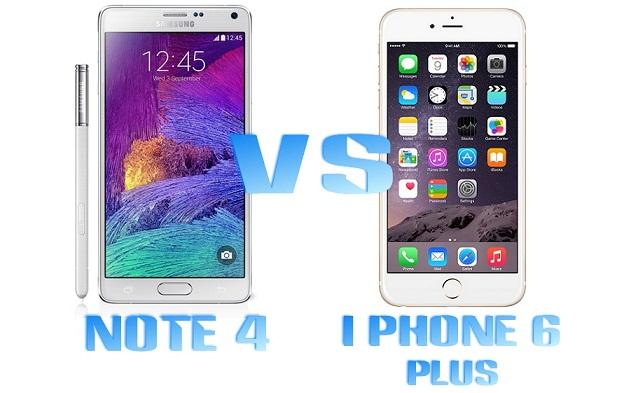 54y75rtfdhkfyujhg09e6584erdyfh iPhone 6 Plus Sau Galaxy Note 4 Comparatie