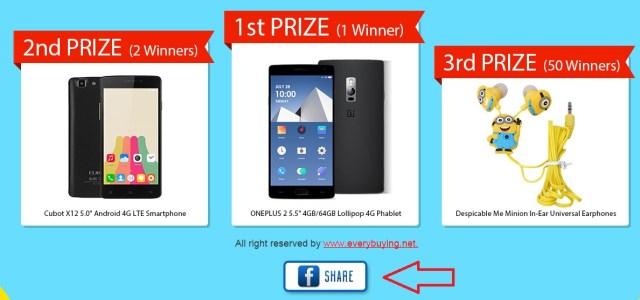 jhy Noi promotii si premii in telefoane pe everbuying.net