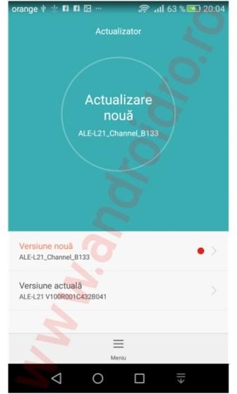 qfa Huawei P8 Lite primeste un update de firmware in Romania