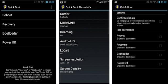 12er Aplicatie boot rapid pe telefon cu Android