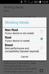 4 Greenify, o aplicatie pentru multitasking