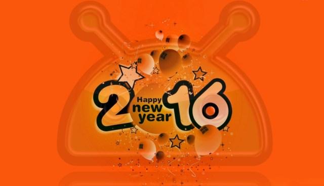 hhh Adio 2015, bun venit 2016, LA MULTI ANI din partea robotelului verde!