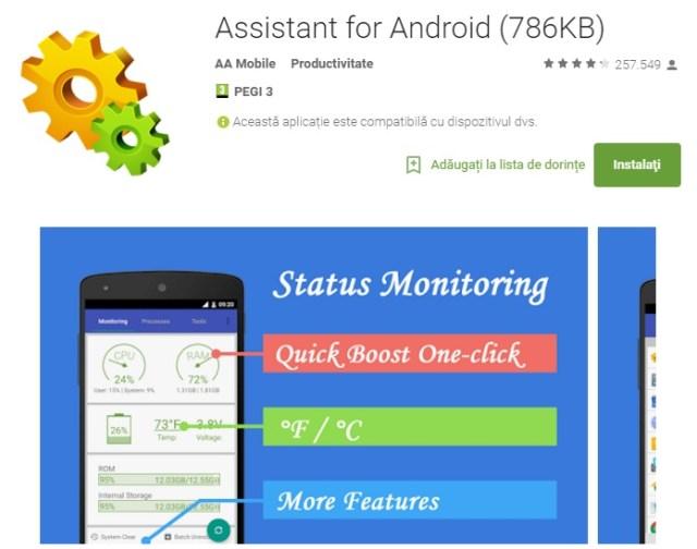xc Super aplicatie pentru Android, de la mutarea aplicatiilor pe card pana la auto boost
