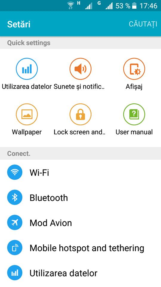 Firmware de Galaxy S6 .v2 Lollipop 5.1 pe Allview E4 Lite