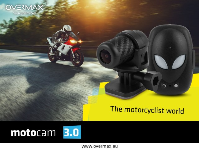 Motocam30_post_overmax_4EN Overmax Motocam 3.0 - camera speciala pentru pasionatii de motociclete