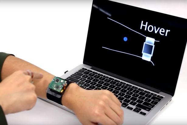 Skintrack-2 Samsung breveteaza smartwatch-ul cu videoproiector, vom putea folosi orice suprafata plata drep touchscreen