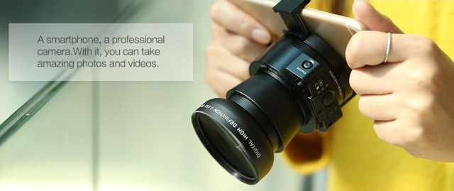 d3345 AMKOV AMK-OX5, camera video interesanta impreuna cu telefonul mobil!