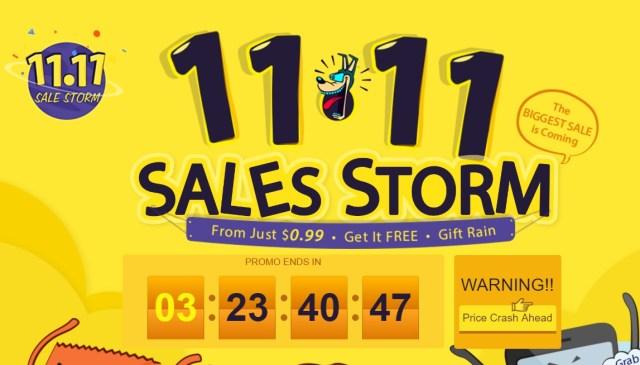 rtt 11.11 = o noua promotie marca gearbest.com, mai multe categorii de produse