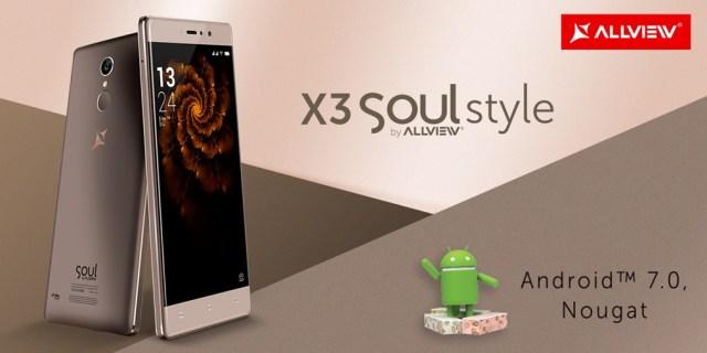 Allview X3 Soul Style Allview X3 Soul Style primeste oficial update la Android 7 Nougat