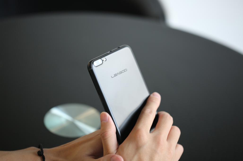leagoo m7, android 7,0 design asemanator cu iphone 7 plus, sub 80 $!