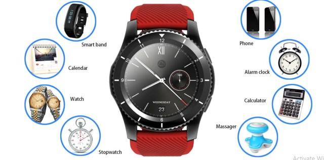 no.1 g8, au inceput vanzarile pentru acest smartwatch ieftin